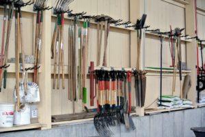 Martha Stewart's tool racks...